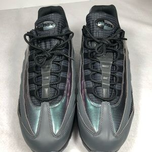 Nike Shoes - Nike Air Max 95 LV8 Blk/Amber Glow Drk Grey Sz 12